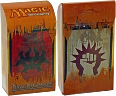 Dragon's Maze Prerelease Kit - Rakdos/Boros