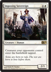 Imposing Sovereign - Foil