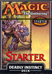 Starter 1999 Theme Deck - Deadly Instinct