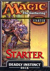 Starter 1999 Theme Deck - Deadly Instinct