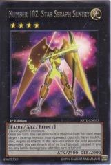 Number 102: Star Seraph Sentry - JOTL-EN053 - Rare - 1st Edition