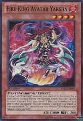 Fire King Avatar Yaksha - JOTL-EN095 - Super Rare - 1st Edition