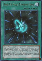 Rank-Up-Magic Numeron Force - JOTL-EN059 - Ultra Rare - 1st Edition