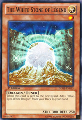 The White Stone of Legend - SDBE-EN013 - Common - 1st