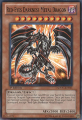 Red-Eyes Darkness Metal Dragon - SDDC-EN013 - Common - Unlimited
