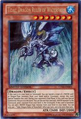 Tidal, Dragon Ruler of Waterfalls - CT10-EN001 - Secret Rare - Limited Edition on Channel Fireball