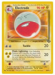 Electrode - 18/64 - Rare - Unlimited Edition
