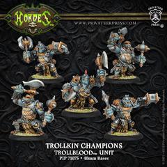 Trollkin Champions