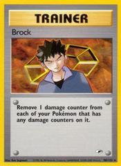 Brock - 98/132 - Rare - Unlimited Edition