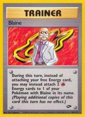 Blaine - 100/132 - Rare - Unlimited Edition