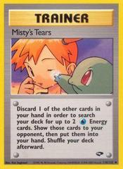 Misty's Tears - 118/132 - Uncommon - Unlimited Edition