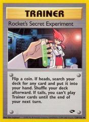 Rocket's Secret Experiment - 120/132 - Uncommon - Unlimited Edition