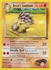 Brock's Sandslash - 36/132 - Uncommon - Unlimited Edition