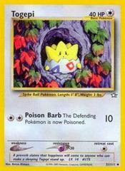 Togepi - 51/111 - Uncommon - Unlimited Edition