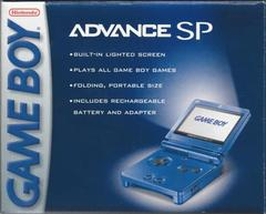 ZSYS Nintendo Game Boy Advance SP Cobalt