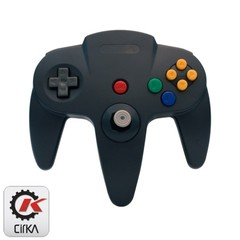 Accessory: Controller Cirka Black N64
