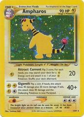 Ampharos - 1/64 - Holo Rare - Unlimited Edition