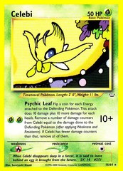 Celebi - 16/64 - Rare - Unlimited Edition