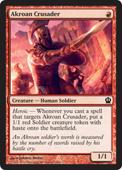 Akroan Crusader - Foil on Channel Fireball