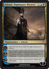 Ashiok, Nightmare Weaver - Foil on Channel Fireball