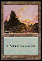 Island (Pink Sky) on Channel Fireball