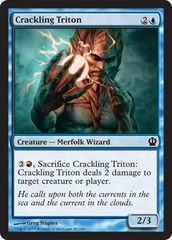 Crackling Triton - Foil on Channel Fireball