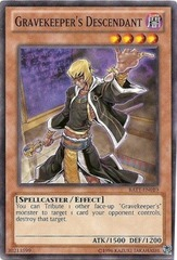 Gravekeeper's Descendant - BATT-EN010 - Starfoil Rare - Unlimited Edition