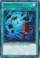 Heavy Storm - LCJW-EN284 - Ultra Rare - 1st Edition