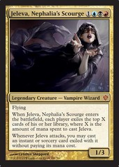 Jeleva, Nephalia's Scourge (Oversized) on Channel Fireball