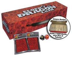 Red - Elder Dragon Lair - Deck Box (Legion)