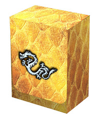 Dragon Hide Deck Box Gold