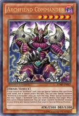 Archfiend Commander - JUMP-EN067 - Ultra Rare - Limited Edition