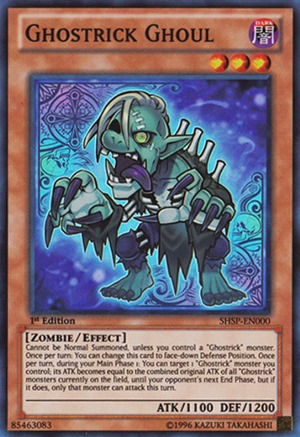 Ghostrick Ghoul - SHSP-ENSP1 - Ultra Rare - Limited Edition