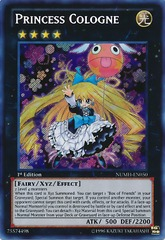 Princess Cologne - NUMH-EN050 - Secret Rare - Unlimited
