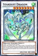 Stardust Dragon - SHSP-ENSE1 - Super Rare - Limited Edition on Channel Fireball