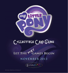 My Little Pony Collectible Card Game Rarity & Rainbow Dash Theme Deck