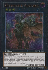 Ghostrick Alucard - SHSP-EN052 - Ultimate Rare - Unlimited Edition