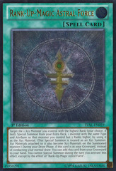 Rank-Up-Magic Astral Force - LVAL-EN059 - Ultimate Rare - 1st Edition