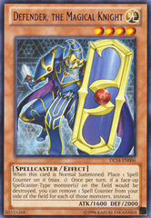 Defender, the Magical Knight - Purple - DL14-EN006 - Rare - Unlimited Edition on Channel Fireball