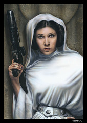 Star Wars Art Sleeves - Princess Leia (50ct)