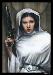 Art Sleeves - Princess Leia (2) (50ct)