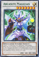 Arcanite Magician - Green - DL14-EN009 - Rare - Unlimited Edition