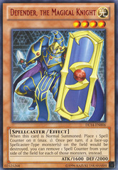 Defender, the Magical Knight - Red - DL14-EN006 - Rare - Unlimited Edition