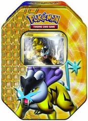 Pokemon 2010 Raikou Holiday Tin