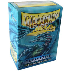 Dragon Shield Sleeves Box of 100 in Turquoise