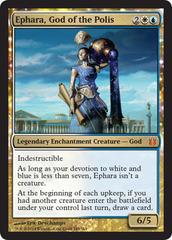Ephara, God of the Polis on Channel Fireball