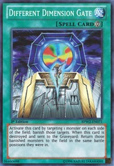 Different Dimension Gate - BPW2-EN071 - Super Rare - 1st Edition on Channel Fireball