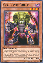 Gorgonic Golem - LVAL-EN011 - Common - 1st Edition