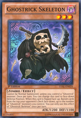 Ghostrick Skeleton - LVAL-EN024 - Common - 1st Edition