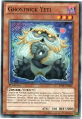 Ghostrick Yeti - LVAL-EN082 - Common - 1st Edition